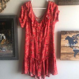Flame celestial Mini dress